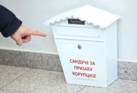 PRIJAVA KORUPCIJE U HODNIKU Vlada Srpske postavila sandučiće za savjesne službenike