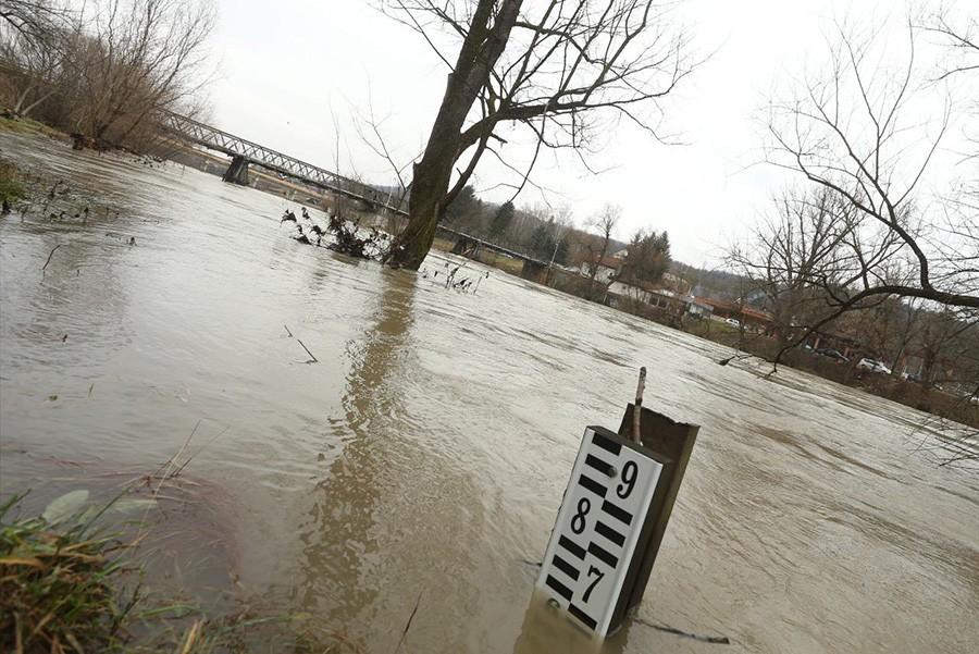 KRITIČNE TAČKE U BANJALUCI Grad izradio kartu opasnosti od poplava (FOTO)