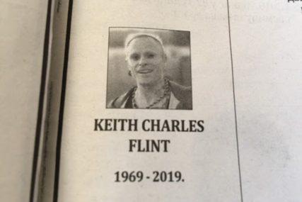 POSLJEDNJI POZDRAV ZA KRALJA Banjalučani objavili čitulju Kitu Flintu