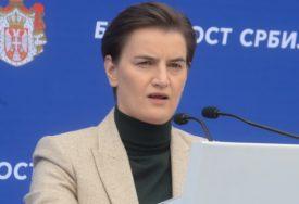 """""""NADAM SE UKIDANJU TAKSI"""" Brnabić istakla da od Prištine ne očekuje ništa"""