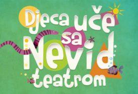 """Animacioni i edukativni projekat """"Djeca uče sa Nevid teatrom"""""""