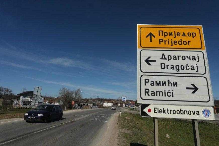 BAGERI ČEKAJU NA PROJEKAT I DOZVOLE Raskrsnica na odvajanju za naselja Ramiće i Dragočaj i dalje bez semafora