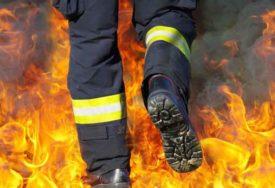 BORBA SA VATRENOM STIHIJOM Najviše upozorenje zbog VELIKOG POŽARA, na terenu 100 vatrogasaca