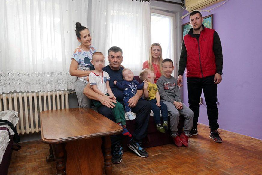 OSMORO U 35 KVADRATA Kalabići žive u potkrovlju, a 4 dječaka imaju SAMO JEDNU ŽELJU
