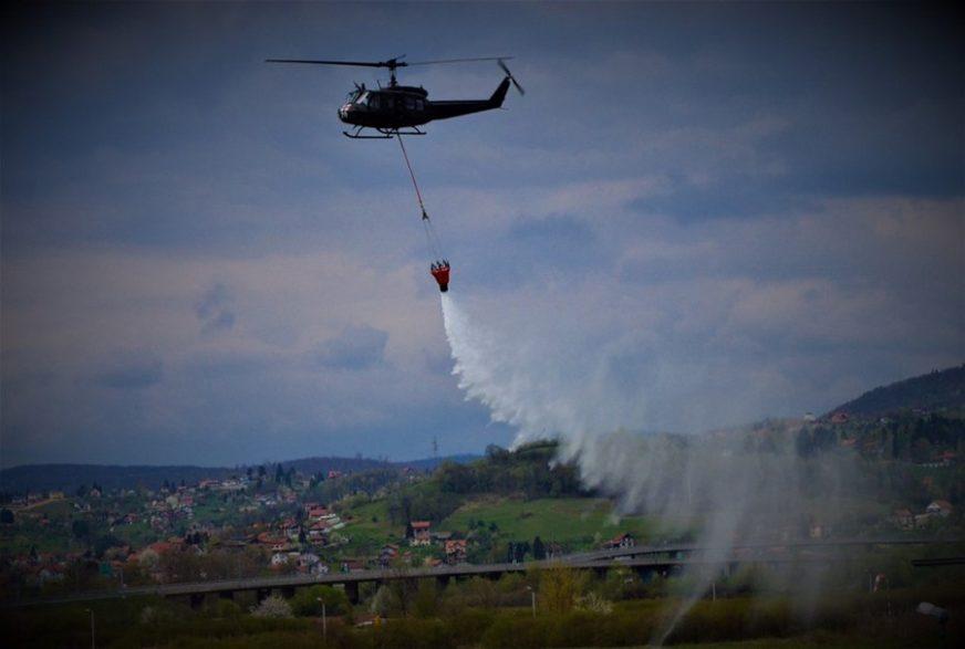 Požar na Romaniji gasi helikopter Oružanih snaga BiH, očekuje se i drugi iz Srpske