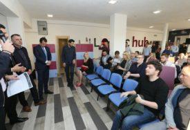 MJESTO ZA RAD FRILENSERA Otvoren novi prostor inovacionog centra