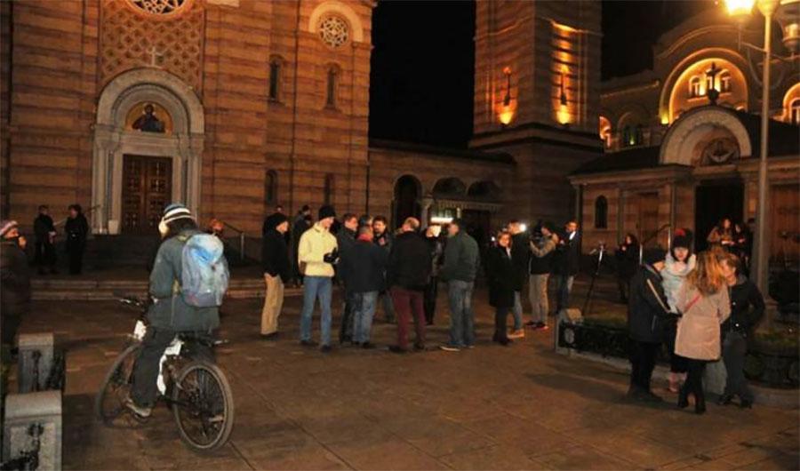 Okupljanja građana u Banjaluci ne prestaju: Skup Pravda za Davida održan je 390. dan zaredom (VIDEO)