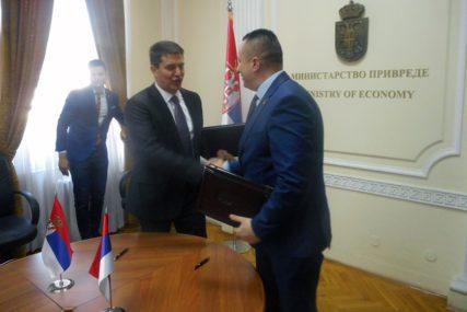 OJAČATI ODNOSE Potpisan Memorandum o intenziviranju saradnje Srpske i Srbije