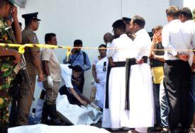 CRNI USKRS U ŠRI LANKI U većini eksplozija najvjerovatnije riječ o samoubilačkim terorističkim napadima