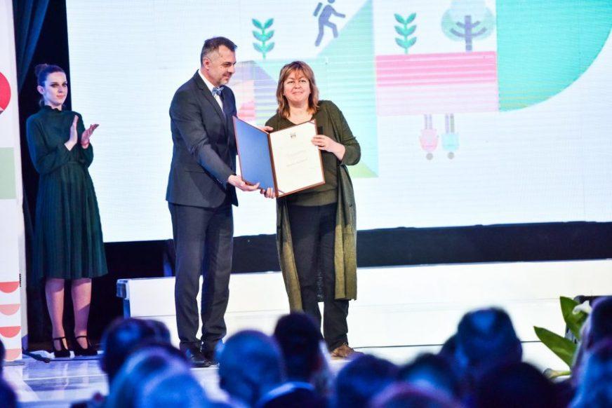 DOPRINOS RAZVOJU POZORIŠNE UMJETNOSTI Bugarska rediteljka Biserka Kolevska dobila Plaketu Grada Banjaluka