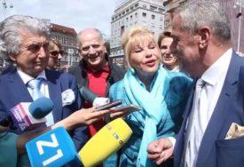 MALO JOJ DVA PUTA Gradonačelnik Zagreba se zbunio dok se ljubio sa bivšom Trampovom ženom (VIDEO)