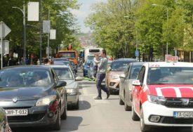 GRAD U POTPUNOJ BLOKADI Centar Banjaluke zatvoren za saobraćaj na DESET SATI