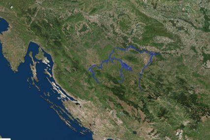 ZNAČAJNE ZA ODBRANU GIS laboratorija PMF-a Banjaluka objavila MAPE POPLAVLJENIH PODRUČJA (FOTO)