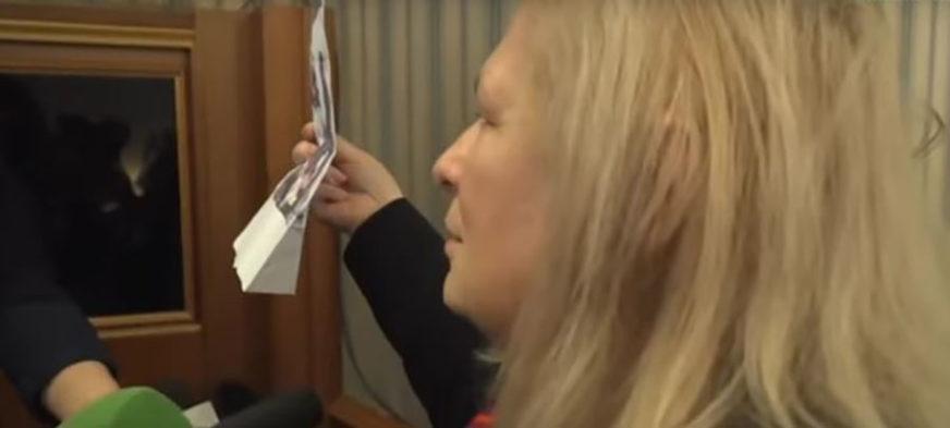 Poslanica koja je GNUSNIM SLIKAMA uzburkala javnost tvrdi da se NE SJEĆA od koga je dobila fotografije