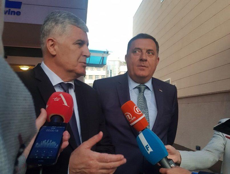 TEMA USPOSTAVLJANJE VLASTI U BIH Lideri SNSD i HDZ sastali se u Mostaru