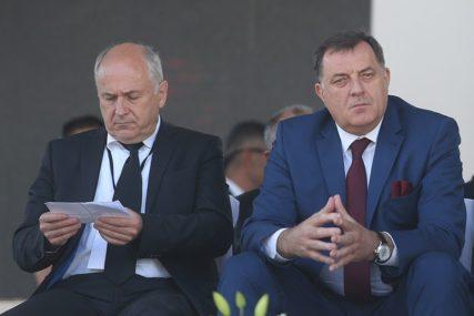 """""""Bili smo u velikoj ljubavi"""" O čemu su Incko i Dodik pričali na slavi za Đurđevdan"""