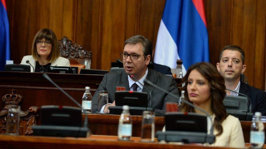 REAKCIJA IZ SRBIJE Vučić: Nama su mir i stabilnost najvažniji, daćemo svoj sud o deklaraciji SDA