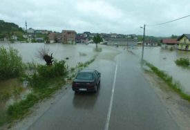 ALARMANTNO I U CAZINU Zbog poplava i klizišta proglašeno stanje PRIRODNE NESREĆE