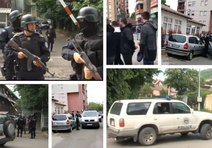 ZAVLADALA PANIKA Nakon divljačkog upada ROSU na sjever KiM, Srbi se okupljaju na Trgu Šumadija