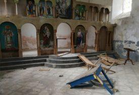 SRAMOTA U KUPRESU Vandali devastirali jedan od najstarijih hrišćanskih hramova u BiH (FOTO)