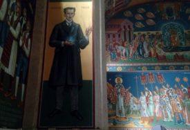 NEOBIČNOST HRAMA U TREBINJU Među svecima likovi Nikole Tesle i Alekse Šantića