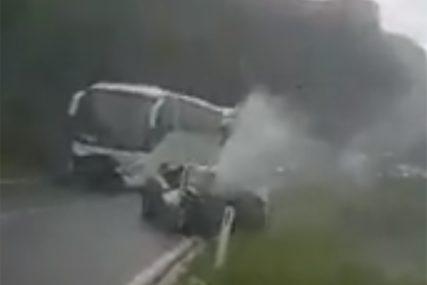 SLUČAJ KOJI JE POTRESAO REGIJU Snimatelj nesreće kod Mostara u kojoj je poginuo Banjalučanin NIJE UHAPŠEN