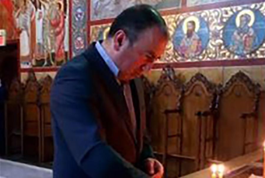 U RODNOM MJESTU PATRIJARHA PAVLA Crnadak na osveštanju hrama Svetih apostola Petra i Pavla