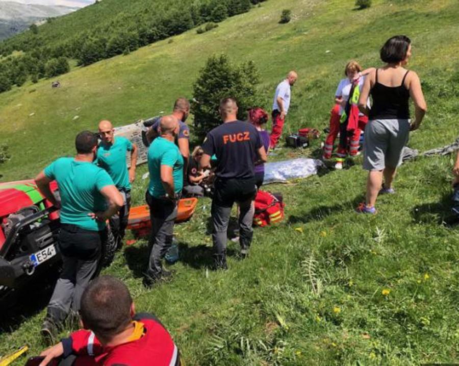 """TRAGEDIJA NA BJELAŠNICI Muškarac poginuo pri prevrtanju """"kvada"""" na planini"""
