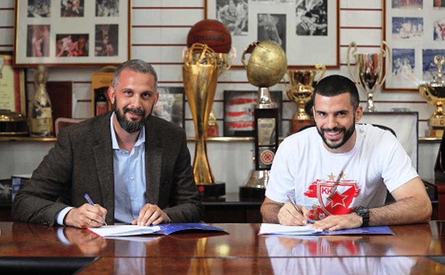 OSTAJE KAPITEN Lazić produžio sa Zvezdom do 2022.