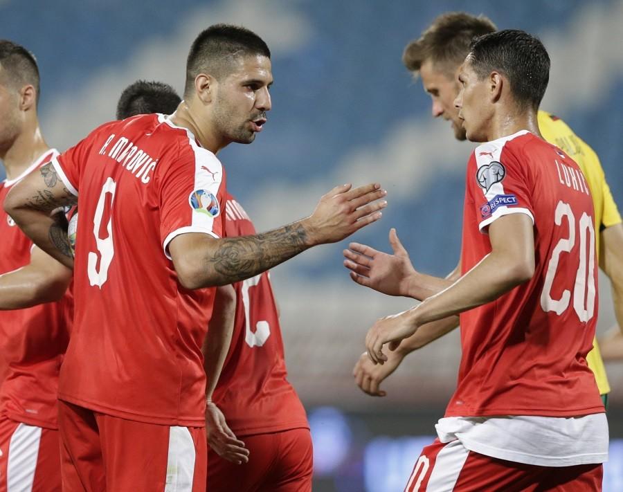 """KRAJ MEČA """"Orlovi"""" se iskupili za debakl u Ukrajini! Srbija - Litvanija 4:1!"""