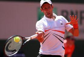 Mladi britanski teniser: Samo da izbjegnem idola Novaka na Vimbldonu