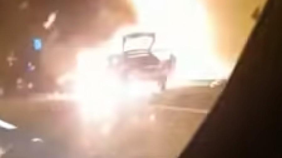 ŠOKANTNO Pojavio se snimak eksplozije automobila u tunelu u Hrvatskoj (VIDEO)