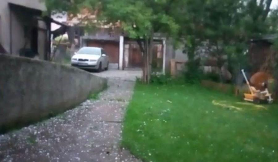 NEVRIJEME U FEDERACIJI Grad u Travniku, Zenici, Tomislavgradu (VIDEO)