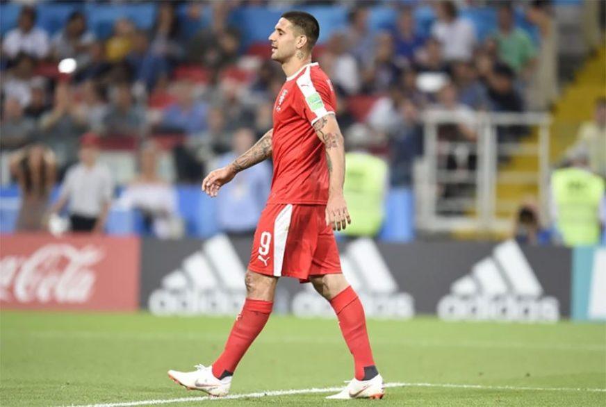 MITROVIĆ U CRVENOM DRESU Reprezentativac Srbije u posebnom ruhu londonskog kluba