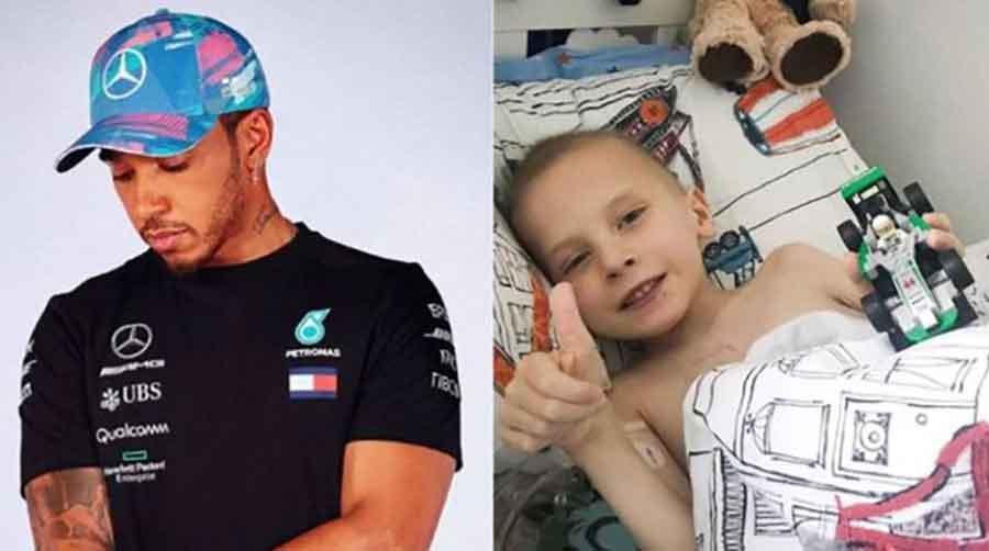 NJEGOVO MALENO SRCE NIJE IZDRŽALO Preminuo dječak (5) kojem je Hamilton poslao bolid