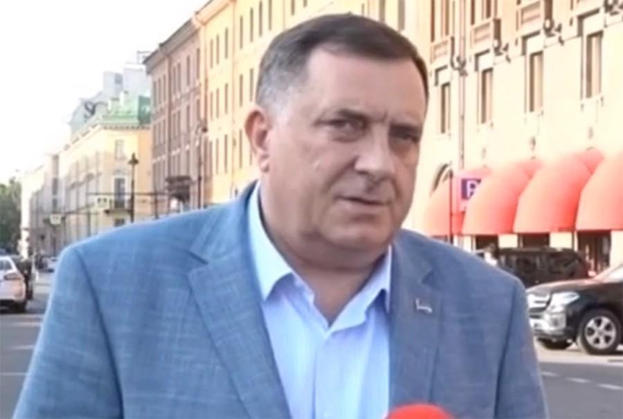 """""""LANSIRA SVOJE IDEJE"""" Dodik tvrdi da Komšić podriva sistem na kojem počiva BiH"""