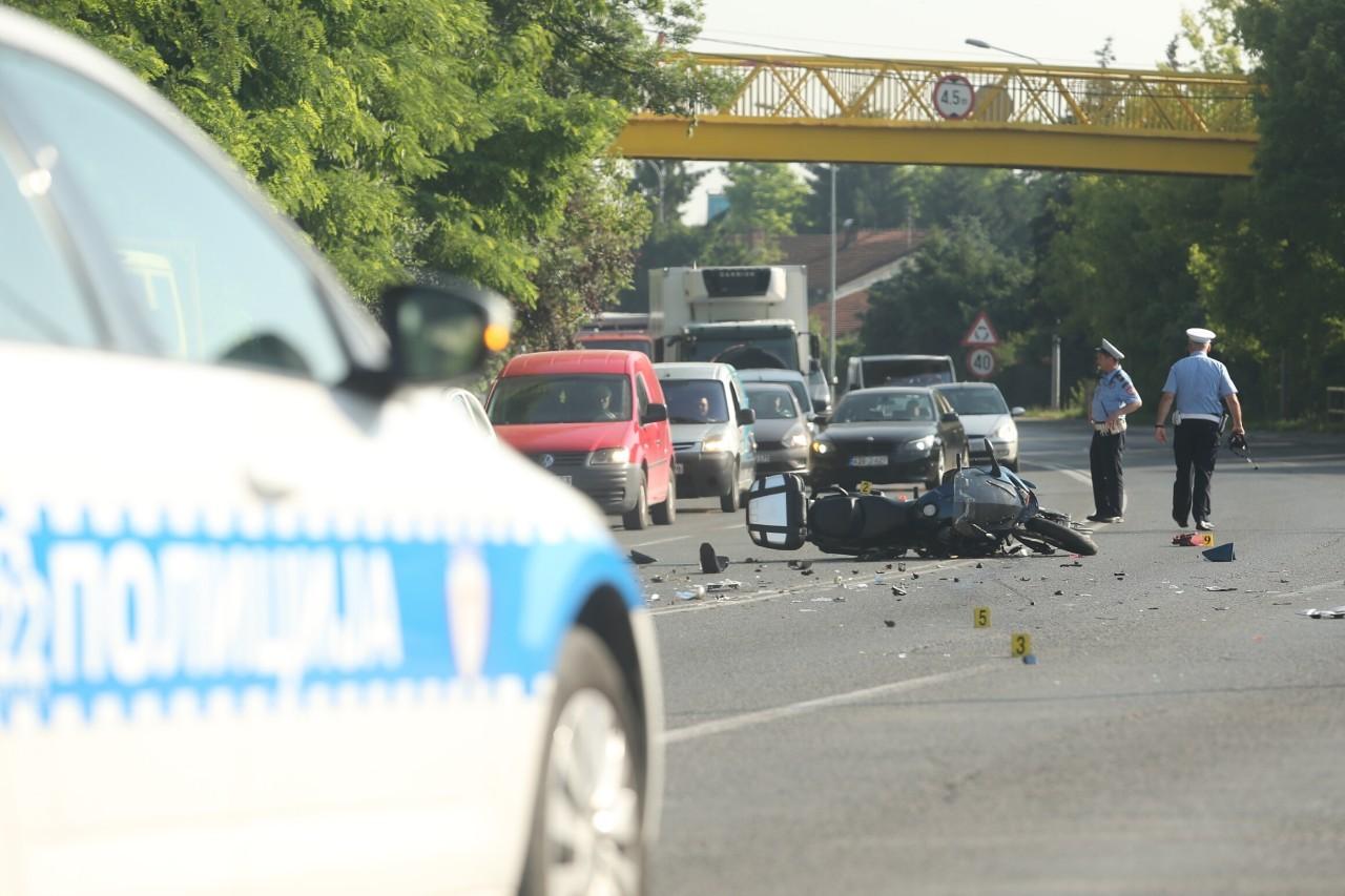 STRAVIČNA NESREĆA KOD BIJELJINE Motociklista stradao u sudaru sa kamionom