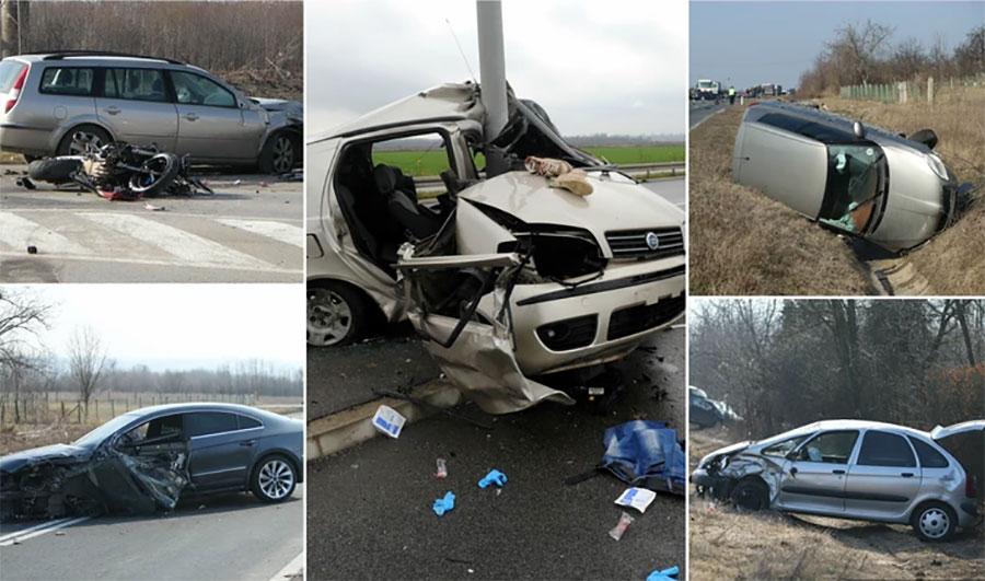 KRVAVI SRBIJANSKI PUTEVI: Za 14 dana u 17 nesreća čak 16 poginulih