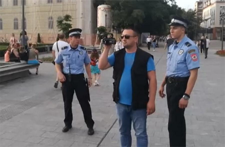 HEPENING U PLAVOM Ko je koga (ne)ovlašteno snimao ispred Hrama u Banjaluci (VIDEO)