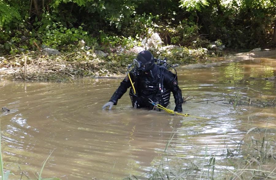 JEZIV PRIZOR NA OBALI DRINE Moguće da je tijelo izvučeno iz rijeke došlo iz Crne Gore