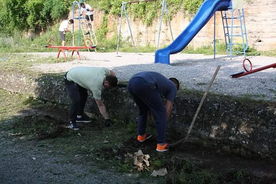 U Višegradu očišćeno dječje igralište, akciji se odazvali sportisti