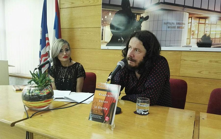 OCIJENJEN KAO REMEK DJELO U Bijeljini predstavljen novi Bazduljev roman