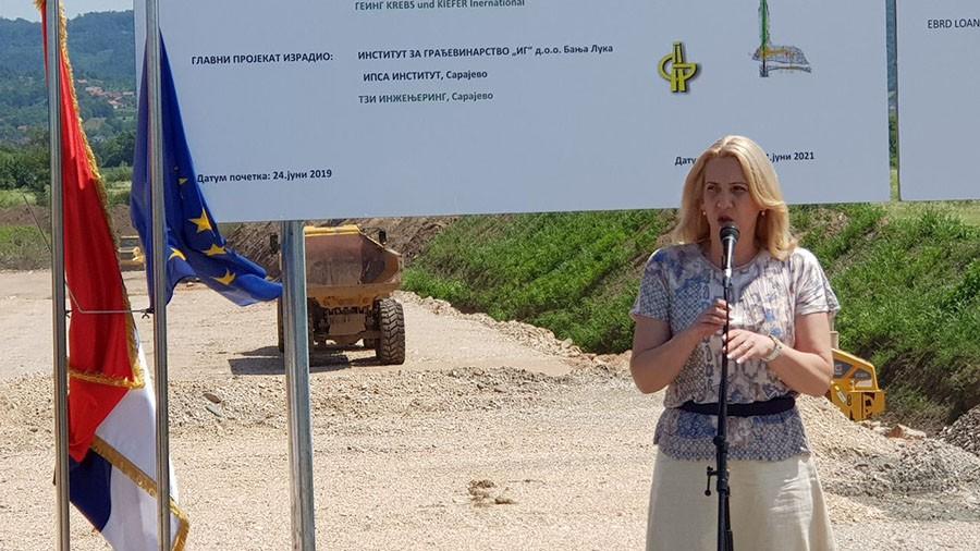 Cvijanović: Auto-putevi velika razvojna šansa Srpske za povezivanje svih dijelova Republike