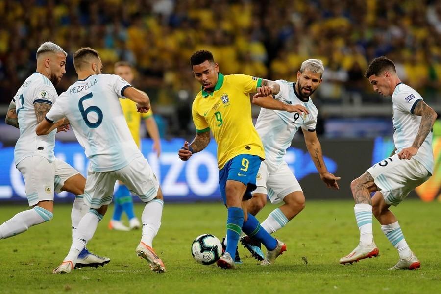 BRAZIL U FINALU KUPA AMERIKE Žesus i Firminjo pravili šou, Mesi ponovo bez zlata