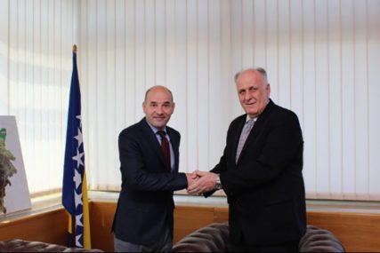Dalipagić i Đorđević razgovarali o saradnji na IZGRADNJI AUTOPUTA SARAJEVO - BEOGRAD