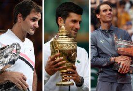 NAJBOLJI TENISERI SVIH VREMENA Novak, Nadal i Federer na jednom mjestu pričali o MNOGIM TEMAMA