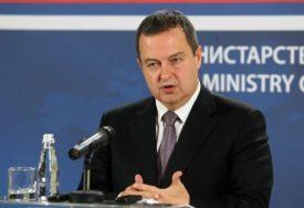 USLOV JE DA SE UKINU TAKSE Dačić izjavio da su Beograd i Priština daleko od obnove dijaloga