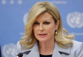 O OVOM POLJUPCU SVI PRIČAJU Hrvatska predsjednica plijenila pažnju na turniru u Umagu (VIDEO)