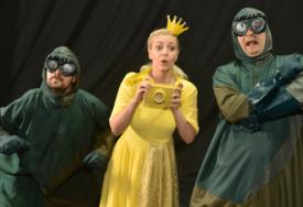 Interaktivna predstava za djecu i odrasle u Domu omladine: Princeza Zlatka pred banjalučkim mališanima