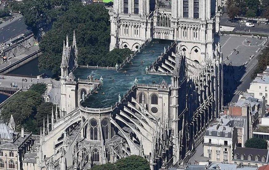 NEPOZNAT UZROK KATASTROFE Pariz će tražiti pomoć Rusije u obnovi Notrdama